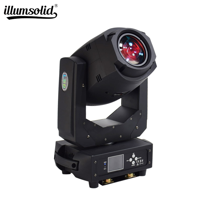 200W LED Lyre Moving Head Light Beam Spot Wash Light For DJ Disco Nightclub Party