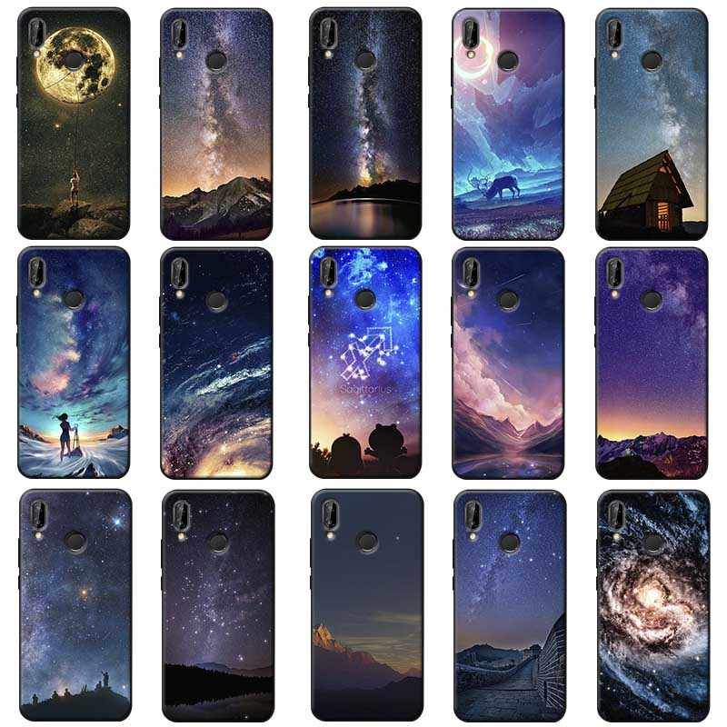 The sky Space Soft Silicone Phone Case for xiaomi redmi note 7 k20 pro 7  note 5 6 4x 7a