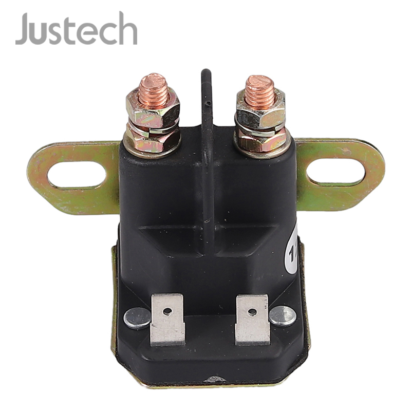 Justech Universal Magnetic Switch Riding Mower 12V 4 Pins Connections Lawn Tractor Lawn Mower 18736111 For CASTEL - GARDEN