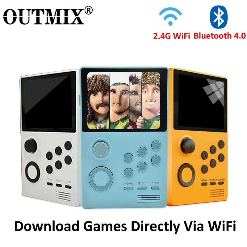 Новая видео игра A19 Pandora's Box Android Supretro портативная игровая консоль IPS экран Встроенный 3000 + игры 30 3D игр WiFi скачать