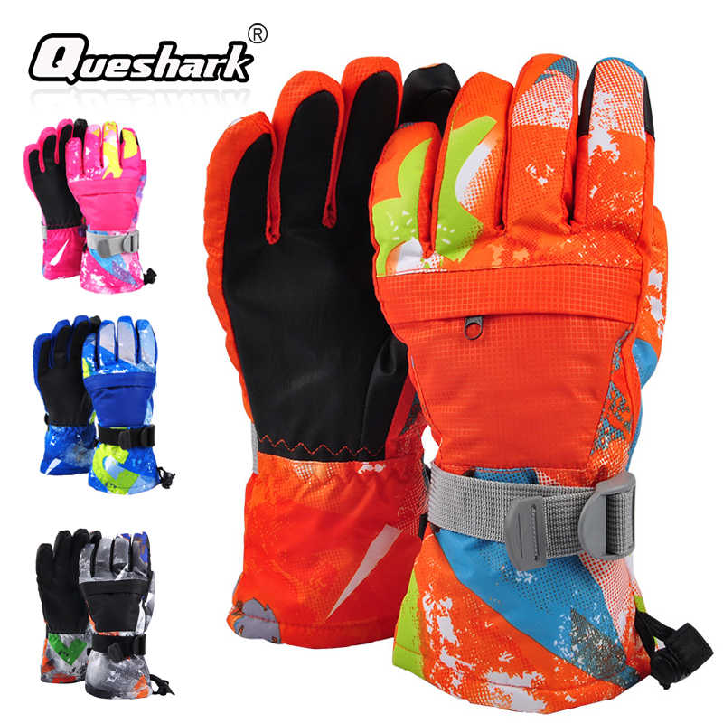 Winter Touch Screen Cycling Skiing Gloves Wndproof Warm Thick Ski-proof Water Resistant Ski Snowboard Gloves Snow Mittens