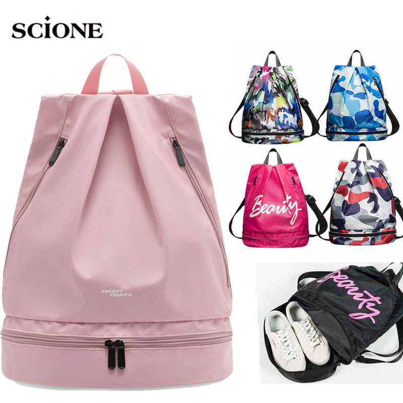 Waterproof Swimming Backpack Dry Wet Bag Camping Backpack Sports Bags Travel Pool Beach Swimsuit Rucksack For Shoes Swim XA585WA