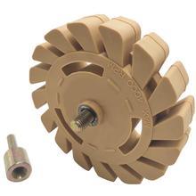 99mm גומי מחק גלגל עבור להסיר רכב דבק דבק מדבקת פסים מדבקות גרפי אוטומטי צבע תיקון כלי E30