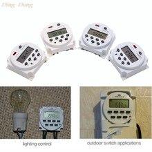 Relé de interruptor de temporizador LCD Digital CN101A, 12V, 24V, 110V, 240V