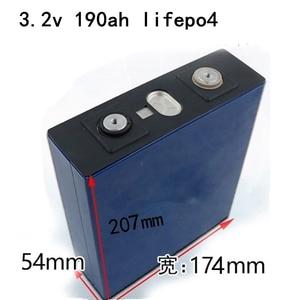 4PCS NEW 3.2V 190Ah Lifepo4 Battery LFP Lithium Solar 4S 12v 200ah Cells Not 100Ah for Pack EV Marine RV Golf(China)