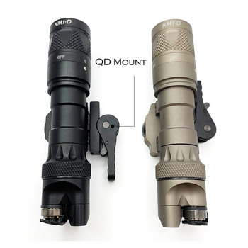 Tactical Light M323V Scout Light Constant & Strobe LED 500 Lumens with ADM Mount for Rifle Hunting Flashlight 4