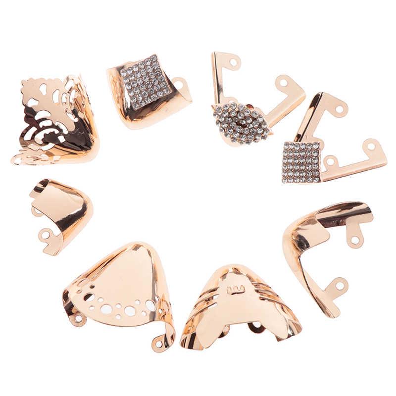 1 çift yüksek topuklu ayakkabılar ayak koruma Metal malzeme ayakkabı klipleri süslemeleri ayakkabı kırık tamir aksesuarları