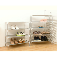 Assembling Dormitory Shoe Rack Household Simple Multi-Layer Storage Non-Woven Organizer AC889