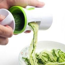 Multifunctional Vegetable Spiralizer Fruit Grater Spiral Slicer Cutter Spiralizer For Carrot Cucumber Courgette Kitchen Gadget