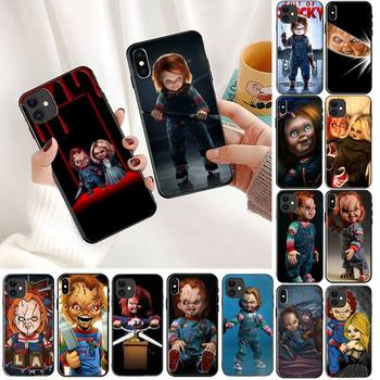 YNDFCNB Cult of Chucky Bling Cute Phone Case For iPhone 11 8 7 6 6S Plus X XS MAX 5 5S se 2020 11 12pro max iphone xr case image