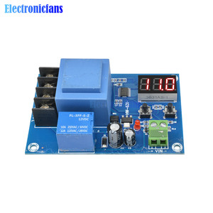 Image 3 - XH M602 Digital Control Battery Lithium Battery Charging Control Module Battery Charge Control Switch Protection Board 3.7 120V
