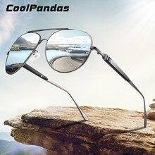 CoolPandas – lunettes de soleil polarisées pour hommes, Anti-éblouissement, pour la conduite, 2020