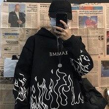 Sweatshirt Women Pullovers Hoodie Streetwear Tops Winter Clothes Long-Sleeve Print Korean-Style