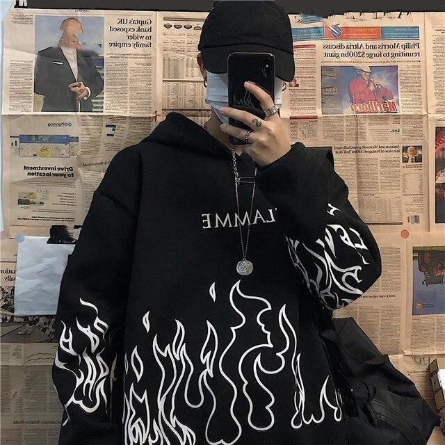 plus size winter clothes sweatshirt women oversized harajuku hoodie korean style streetwear tops print long sleeve Pullovers 1