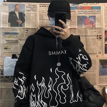 Plus rozmiar zimowe ubrania bluza kobiety ponadgabarytowych bluza z kapturem harajuku koreański styl streetwear topy druku z długim rękawem swetry tanie i dobre opinie SONDR COTTON Poliester CN (pochodzenie) Zima Bluzy REGULAR Pełna Grube Denim sweatshirt women 400g List Na co dzień Osób w wieku 18-35 lat