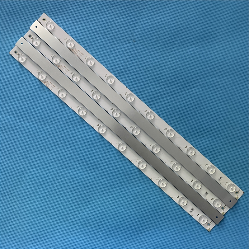 Free Shipping New 5PCS 514MM Aluminum Plate LED Strip 44leds For Samsung 43 Inch TV SVA430A_Rev00_10LED_170118 E320262 Tv Parts