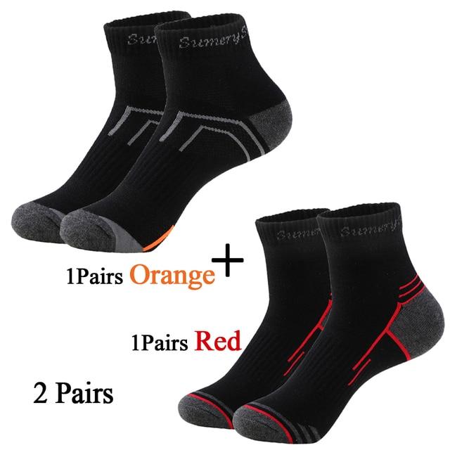 Мужские носки спортивные,хлопок дышащие с материалом против пота 5