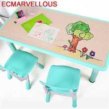 Play And Chair Baby Kindertisch Tavolino Bambini Mesa De Estudio Desk Kindergarten Study For Kids Bureau Enfant Children Table
