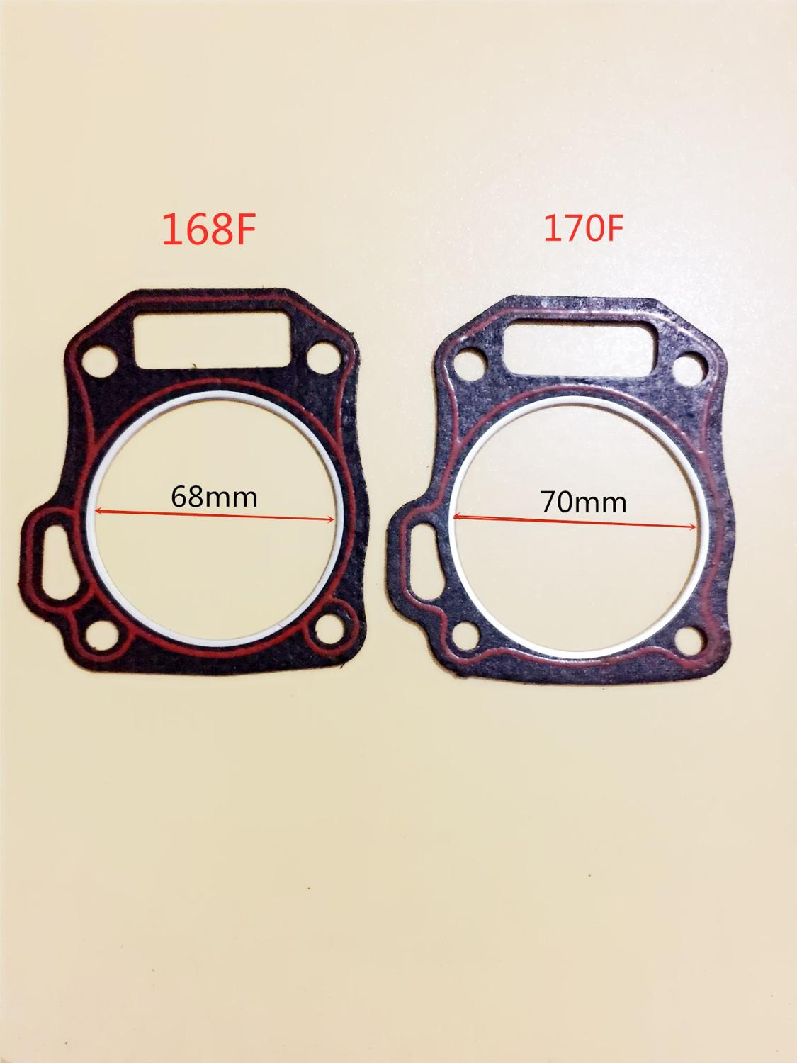 1pcs 2pcs Cylinder Head Gaskets For Honda GX160 GX200 168F 170F 5.5HP 6.5HP 7HP Engine Motors Generator Water Pump High Quality