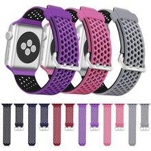 2020 neue bands für apple watch 5 4 38mm 42MM band silikon Ersatz strap für iwatch 4 3 2 40 44mm armband zubehör