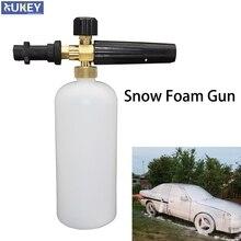 1L Kit rondella pistola schiuma neve universale Jet Cannon Gun sapone lancia Spray 1/4 rapido per Karcher K2 K3 K4 K5 K6 K7 bottiglia di lavaggio