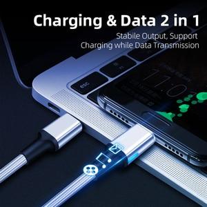 Image 4 - 磁気ケーブルタイプC,5A,100W,ノートブック用,急速充電,磁気充電器,macbook pro用