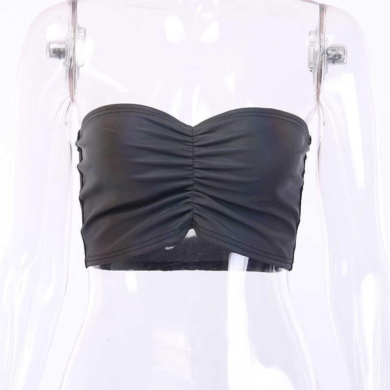 InsGoth ที่มีสีสัน Tank Top Casmis ผู้หญิงเซ็กซี่ Bodycon Crop Top Streetwear Hip Hop หญิง Camiseta Tirantes