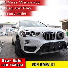 New Car Styling  Head lamp LED Angel Eyes DRL Hi Low Beam Bi Xenon Lens HID Front lamp For BMW X1 Headlight 2016 2017 2018 x1