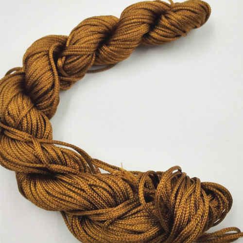 29 สีใหม่ด้าย Braid String เครื่องประดับทำ DIY ไนล่อน 1 มม.* 21 M สำหรับจีน Knot สร้อยข้อมือ