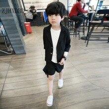 Gentleman Baby Boys Suits Kids Blazer Children's Clothing Formal Wear Toddler Boy Costume Summer 2020 Two-piece Costume Korean