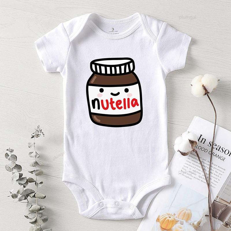 Bodysuit for Newborns Baby clothes Winter Jumpsuit Bodysuit for Babies Boy Baby Clothing Cotton Children Jumpsuits Print Nutella