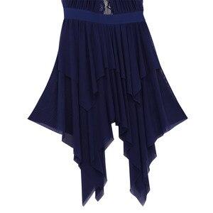 Image 5 - Msmeis Nữ Ren Bất Đối Xứng Hình Trượt Băng Đầm Tiếng La Tinh Ba Lê Phòng Khiêu Vũ Điệu Nhảy Đầm Đương Thời Trữ Tình Vũ Trang Phục