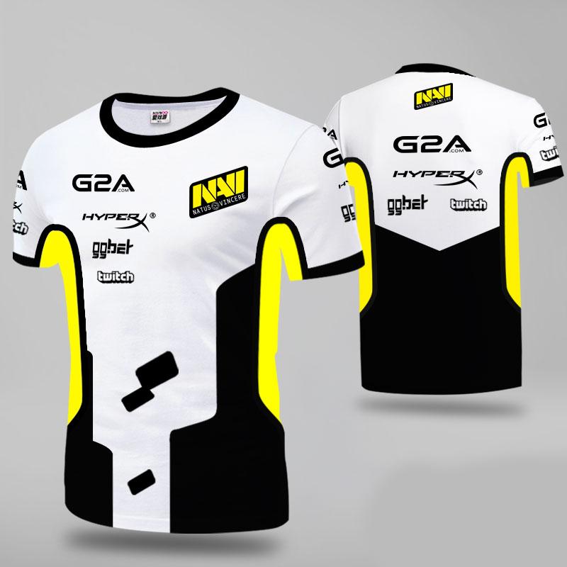 Summer New Navi T Shirt Men Women Tees Tops Jersey Natus Vincere Esports Team T Shirt Game CSGO Pro Player Streetwear Uniform