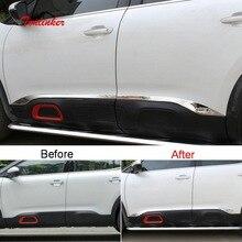 Tonlinker внешняя крышка для двери автомобиля для CITROEN C5 Aircross-19 автомобильный Стайлинг 4 шт. наклейка из нержавеющей стали