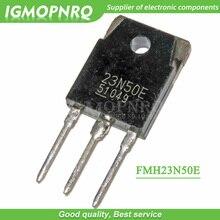 20 قطعة FMH23N50E 23N50 23N50E 500 فولت 23A TO 3P آلة لحام للعاكس ترانزستور بتأثير حقل جديد أصلي
