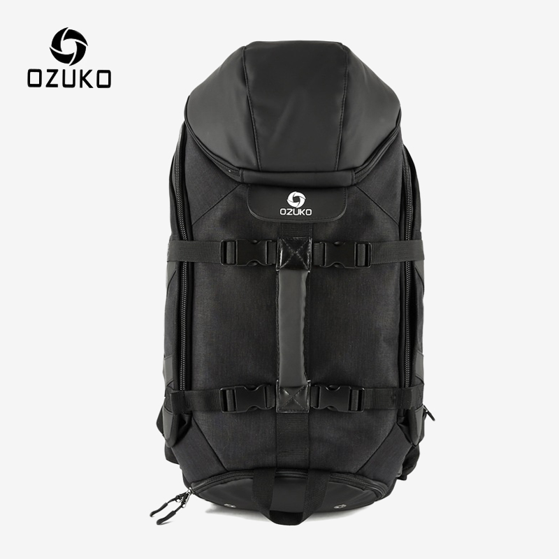 OZUKO Men's 17 Inch Laptop Backpack Male Waterproof Large Capacity Travel Backpack Casual Outdoor Sport Climbing Bagpack Mochila