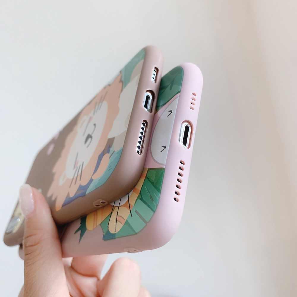ライオンウサギケース Huawei 社 P20 P30 メイト 20 ノヴァ 5 5 プロ 2s 3 3i 4 ソフトシリコンケースのための 9 × 8 × 10 Lite 20 10i 20i カバー
