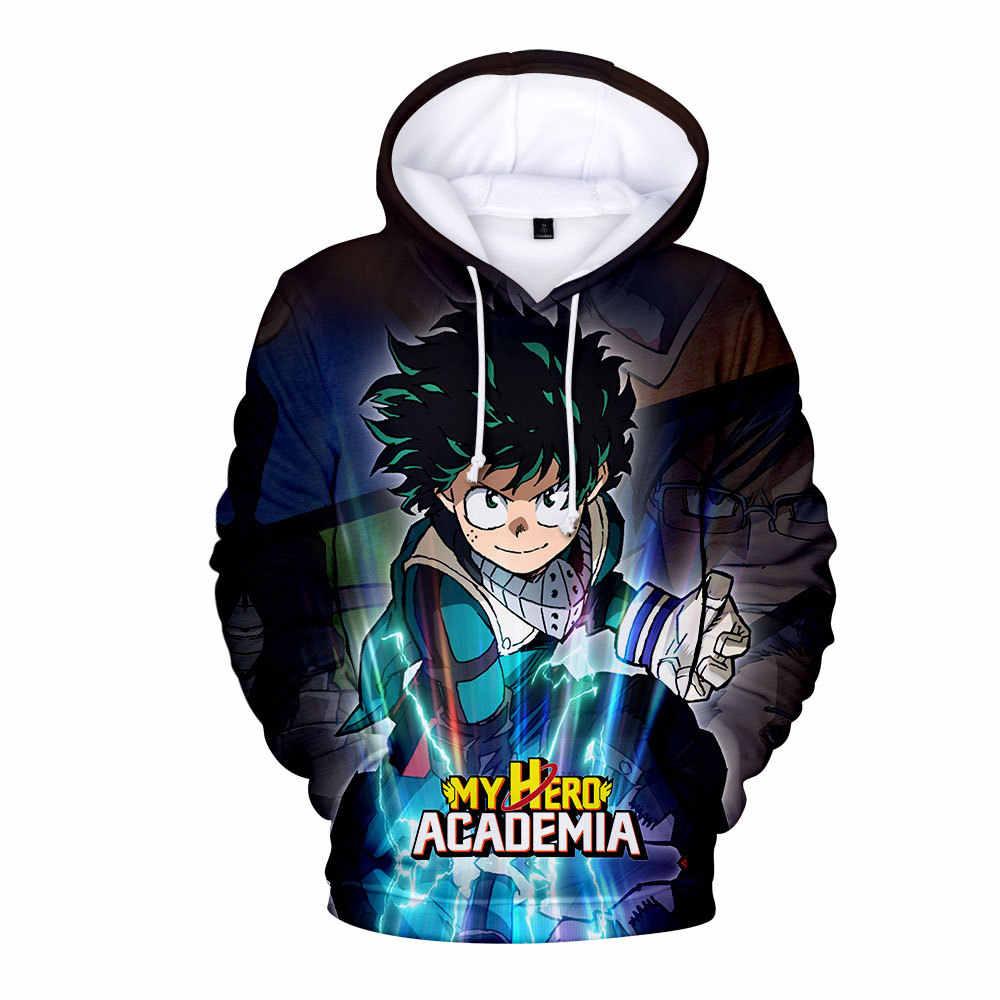 Mi héroe Academia izuku midoriya todos podría 3D Suéter Con Capucha Sudadera Anime