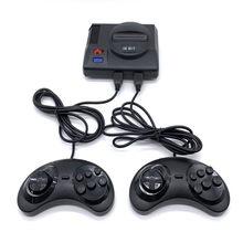 Mini rétro 4K Console de jeu vidéo construit 691 jeux 16Bit classique Sega TV Console de jeu avec deux contrôleurs pour cadeau enfant