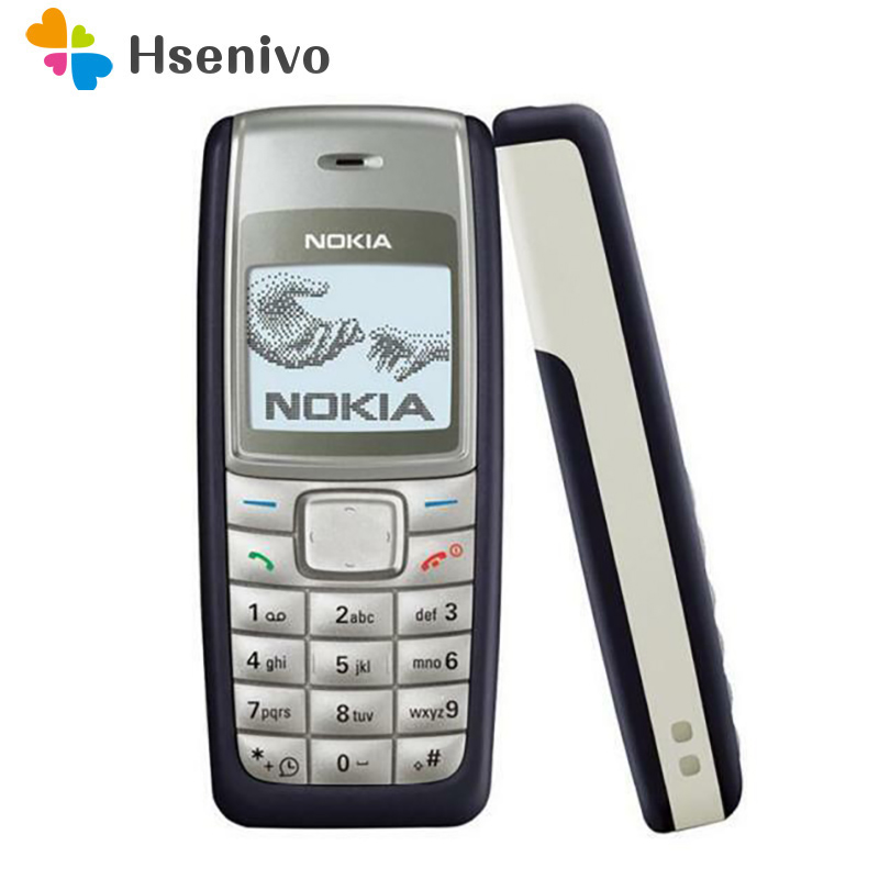 100% Original Nokia 1110 1110i Unlocked GSM 2G Cheap Good Quality Nokia Cellphone Refurbished