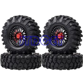 """622-7006 Alloy 1.9"""" Wheel Rim Tire 96mm Supper Swamper Tyre Tires For 1:10 RC Crawler SCX10 D90 D110 CC01 TRX4 TF2 AX622"""