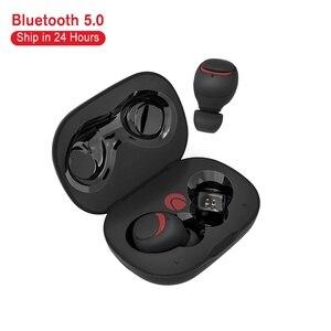 Image 1 - BlitzWolf אוזניות אח AIRAUX מיני אמיתי אלחוטי bluetooth אוזניות Hi Fi סטריאו עמיד למים אוזניות טעינת מקרה במלאי