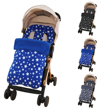 Oeak Foot Muff Baby Infant Carriages Foot Covers Baby Pram Muff Case Bag Socks Pad For Winter Autumn Stroller Accessories