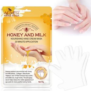 Moisturizing Hand Mask Silk Skiing Improves Dry Exfoliating Remove Dead Skin Winter Hydrating Hand Care Reduce Fine Lines TSLM2