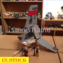 In Stock 75081 246pcs Star Series War The Space Wars T-16 Skyhopper Building Blocks Brick Educational Toys Kid Gift 10372(China)