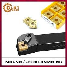1PC MCLNR2020K12 MCLNL2020K12 Drehen Werkzeug Halter MCLNR MCLNL + 10PCS CNMG Drehen einfügen CNMG120404 CNMG120404 VP15TF UE6020