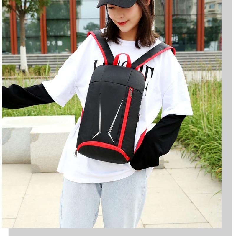 Fashion Portable Folding Shoulder Bag Waterproof Outdoor Travel Backpack Camping
