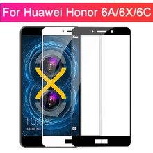 Защитное стекло для Huawei Honor 6a a6 6x x6 6c c6 Gr5 чехол из закаленного стекла на Huavei Huwei Huawey Huawe 6 A X C 6 пленка 9H