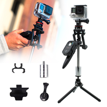 Camera Phone Stabilizer Gimbal Handheld Camera Stabilizer Phone Smooth Video Zoom Control Steadycam for Smartphone For GoPro sp2 2 axis handheld brushless video camera stabilizer beholder phone gimbal page 1