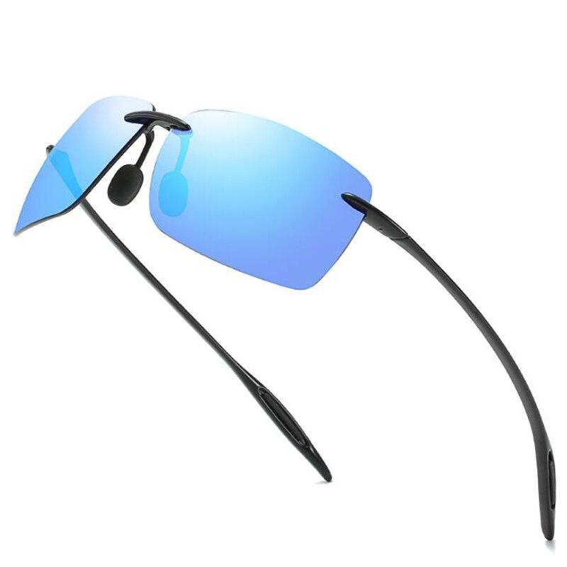 Солнцезащитные очки HBK TR90 для мужчин и женщин, ультралегкие, без оправы, без оправы, уличные спортивные очки, 2020
